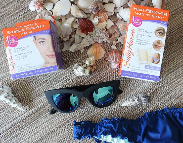 Summer Smooth Skin Must-Haves: Sally Hansen Wax Kits! #ad #SimplySmooth