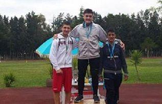 Il lanciatore del peso Carmelo Musci alle finali nazionali dei Giochi Studenteschi