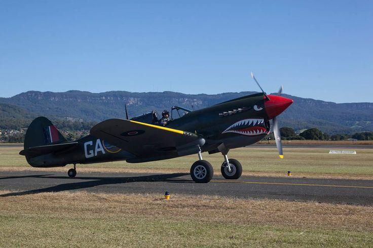 P40 Kittyhawk WOI Airshow Sunday 4 May 2014 Wollongong, Australia