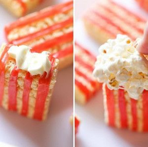 Try this Rice Krispies Treats® Movie Popcorn recipe for fun and tasty movie night.