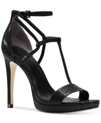 MICHAEL KORS Michael Michael Kors Simone Dress Sandals. #michaelkors #shoes # all women