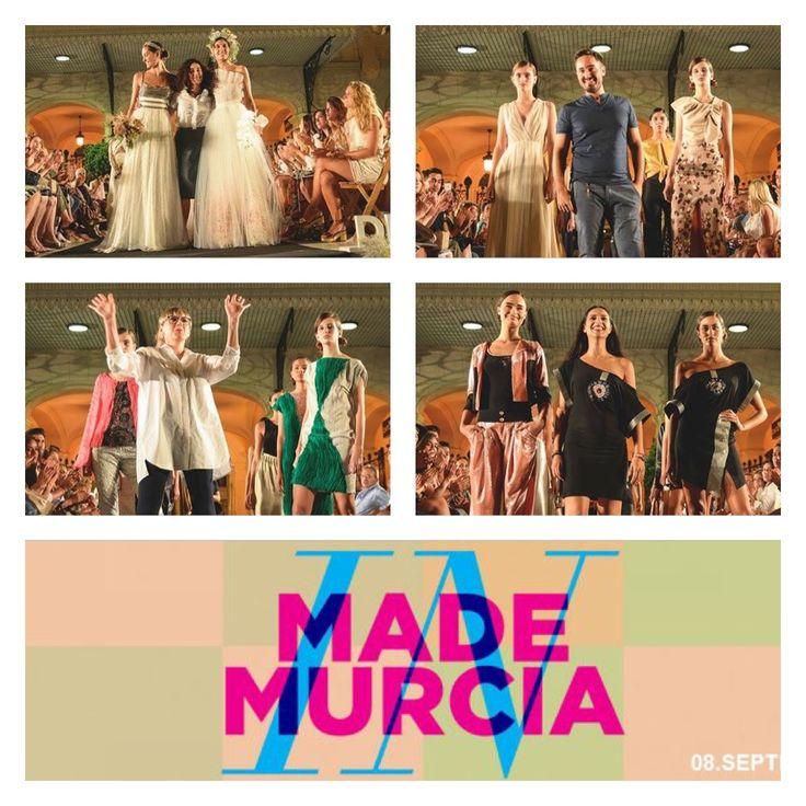 """""""MADE IN MURCIA"""" VISTE DE GALA LA PLAZA DEL TEATRO ROMEA   Pudimos disfrutar del talento de nuestros jóvenes diseñadores, que nos traen sus creaciones a este espacio urbano en el corazón de la ciudad y que se viste de creatividad, diseño y tendencias. Contó con un espacio reservado a la moda y la artesanía. Y un market para poder comprar los productos de los diseñadores murcianos."""