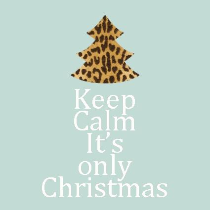 Keep Calm. It's only Christmas. Jooe wonder(lein)blogt.. #jva Follow me on Twitter @wonderleinblogt <3
