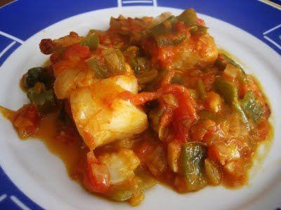 Receta de bacalao con pimientos - Solo Recetas, el blog de las recetas gratis, recetas de cocina, recetas de la abuela y recetas de chef