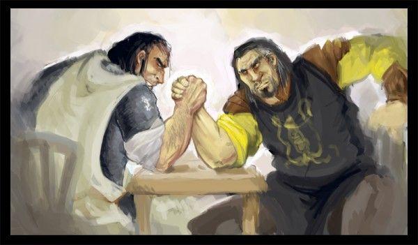 Artist: Alciha (Sandor vs. Victarion)