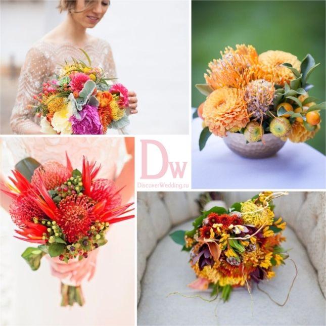 Exotické květiny v svatební květinářství | DiscoverWedding.ru