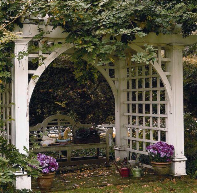 41 best Trellis images on Pinterest Garden arbor, Arbor ideas - garden arbor plans designs
