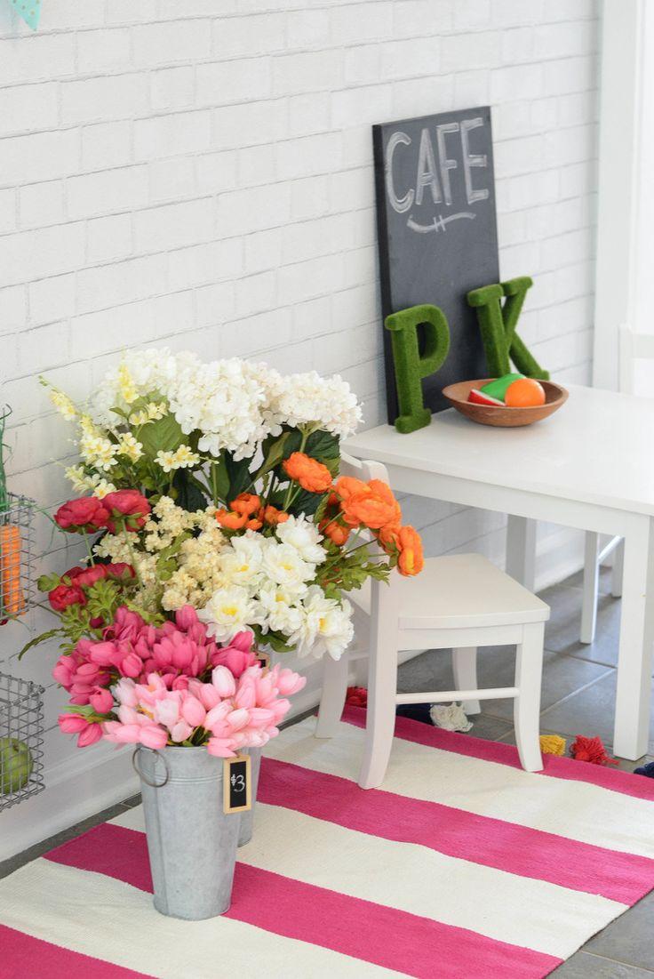 1000  images about little girl bedroom vintage modern floral on ...