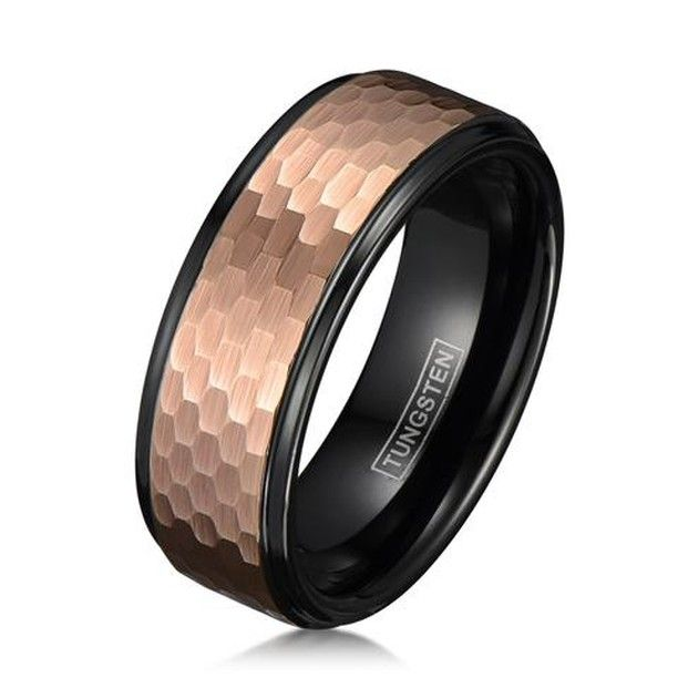 This Is For Those Bronze Lovers Our New Tungsten Rings Coming Next Month Shou Tungsten Wedding Bands Gold Tungsten Wedding Bands Mens Wedding Bands Tungsten