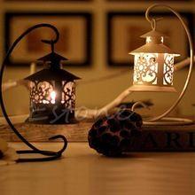 Libero del ferro di stile marocchino candeliere candeliere candle stand titolare luce lanterna(China (Mainland))