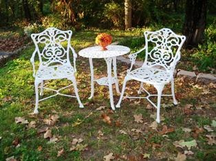 How To Paint Wrought Iron Furniture