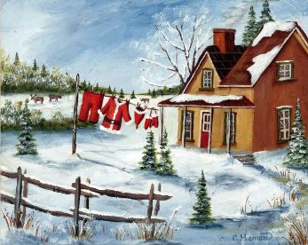 Christine Genest - La maison du Père Noël