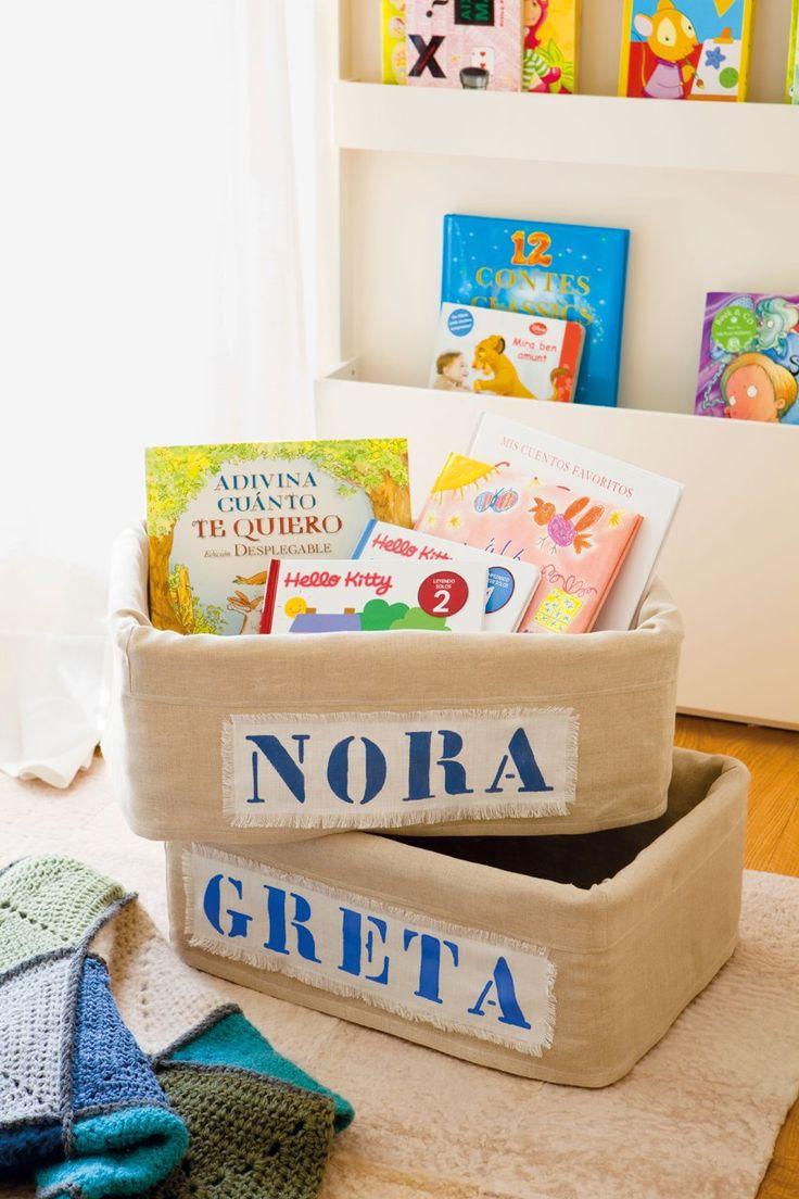 Una habitación para dos hermanas muy bien organizada · ElMueble.com · Niños
