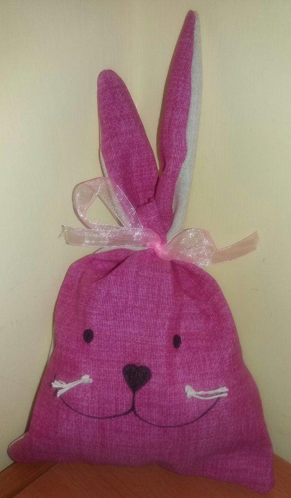 Sacchetto coniglietto Pasqua , by francycreations non solo idee regalo, 5,00 € su misshobby.com