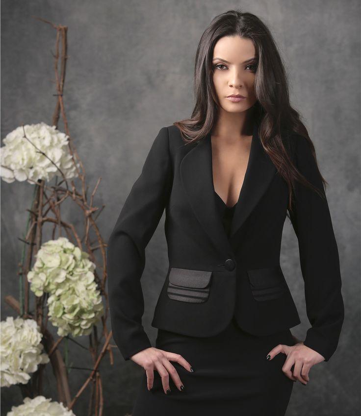 Beautiful mystery| AVA jacket YOKKO | spring17 #black #jacket #style #fashion #women #newcollection #spring #eveningoutfit #yokko