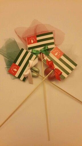 Abhaz Bayraklı Çubuk Şeker