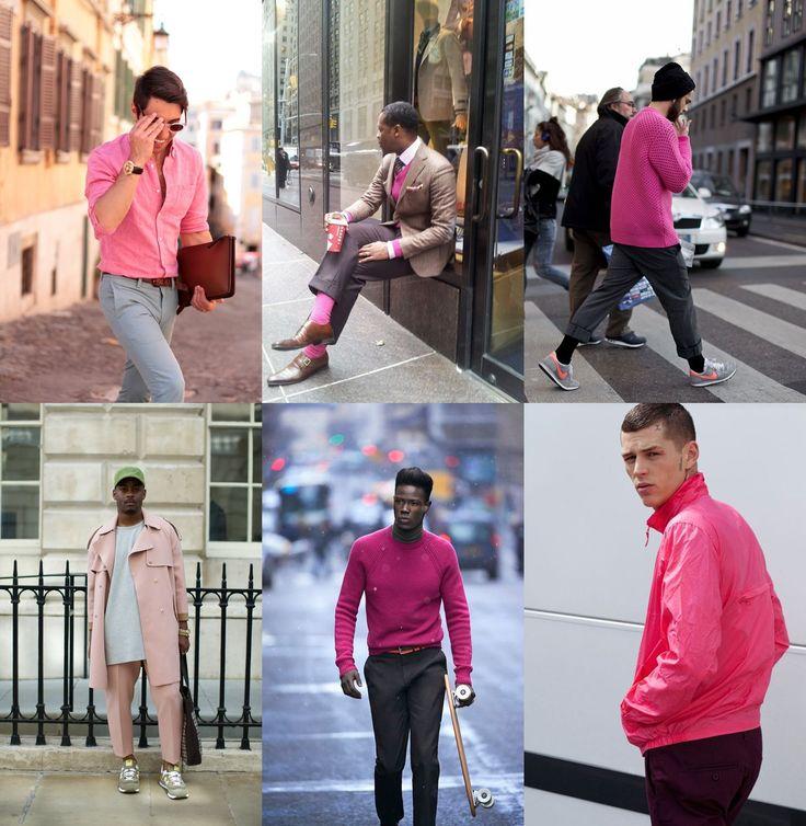 rosa para homens, rosa masculino, como usar rosa, dicas de moda masculina, estilo masculino, richard brito, alex cursino, moda sem censura, fashion blogger, fashion tips, dicas, tendencia masculina 2
