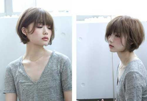 6.Layered Bob Hairstyle