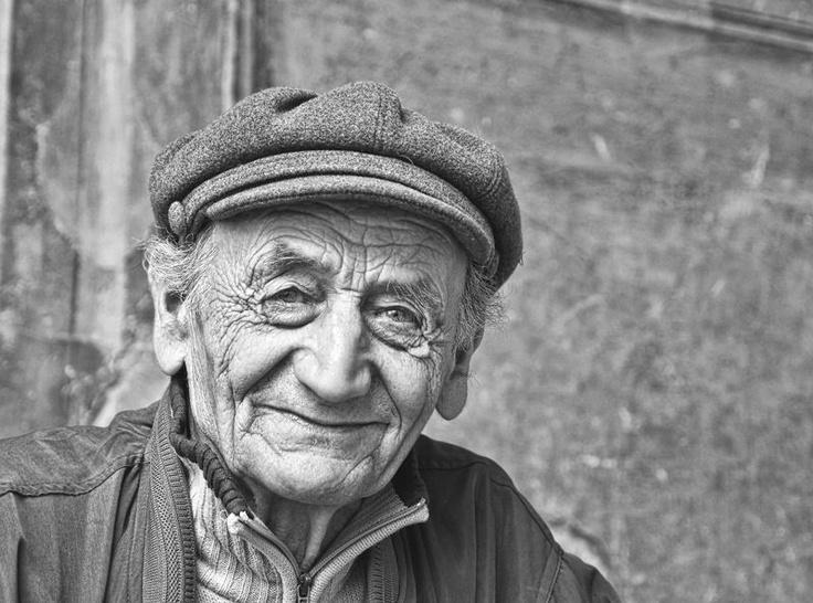 Old italian man.