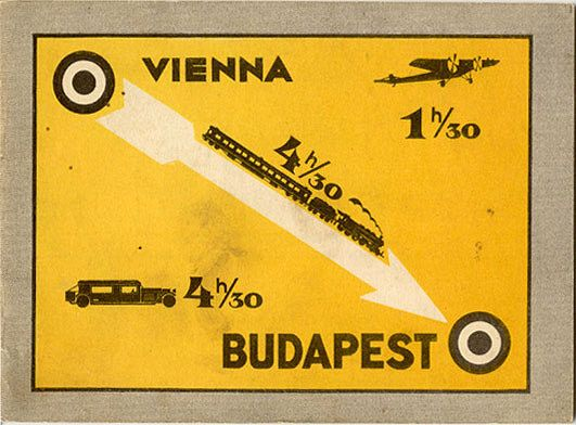 Hamarosan! Brochure for travel to Budapest, 1932.  Published by the Budapest Travel office.