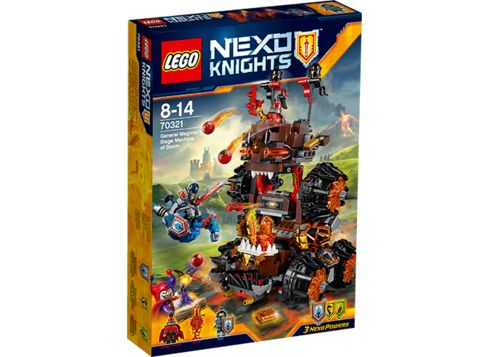LEGO NEXO KNIGHTS 70321 General Magmars dommedagsmaskin