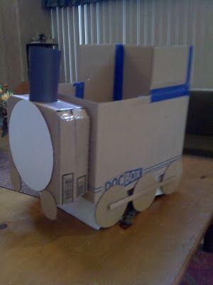 m e peterson family blog: THOMAS THE TRAIN COSTUME