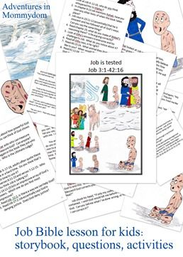 1000 images about bible job on pinterest fun for kids for Job bible lesson craft