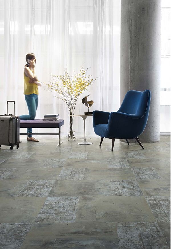 Our first resilient flooring is here. With benefits like superior durability, the Level Set Collection stands up to everyday use while making your space feel more welcoming and beautiful. #InterfaceLVT