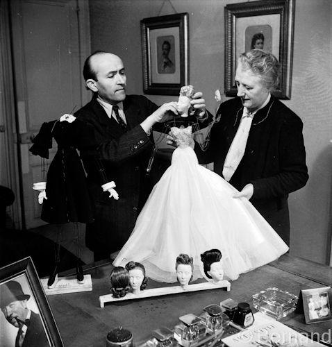 """https://flic.kr/p/9UvKKx   Exibition """"Le Theatre de la mode"""" Paris 1945"""