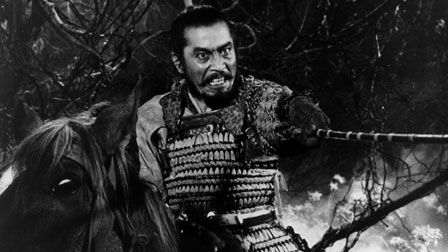 Throne of Blood - A vivid, visceral Macbeth adaptation, Throne of Blood, directed by Akira Kurosawa, sets Shakespeare's definitive tale of ambition & duplicity in a ghostly, fog-enshrouded landscape in feudal Japan. As a hardened warrior who rises savagely to power, Toshiro Mifune gives a remarkable, animalistic performance, as does Isuzu Yamada as his ruthless wife. Throne of Blood fuses classical Western tragedy with formal elements taken from Noh theater to create an unforgettable…