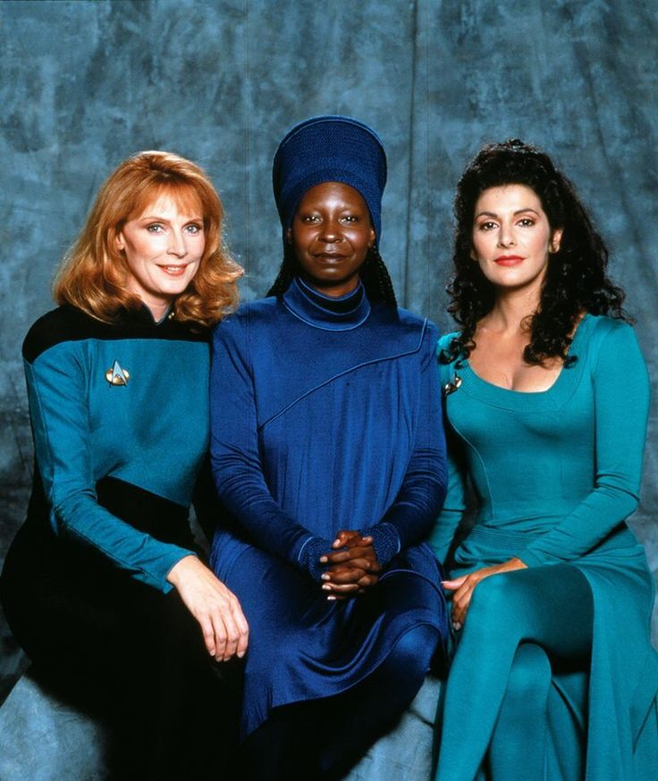 the doctor, bartender & psychic empath - all good people to talk to....I'll be in the lounge w/Whoopi! : )