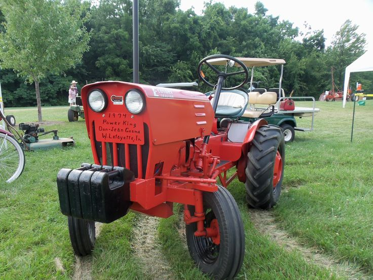 10 Best images about power king tractors on Pinterest ...