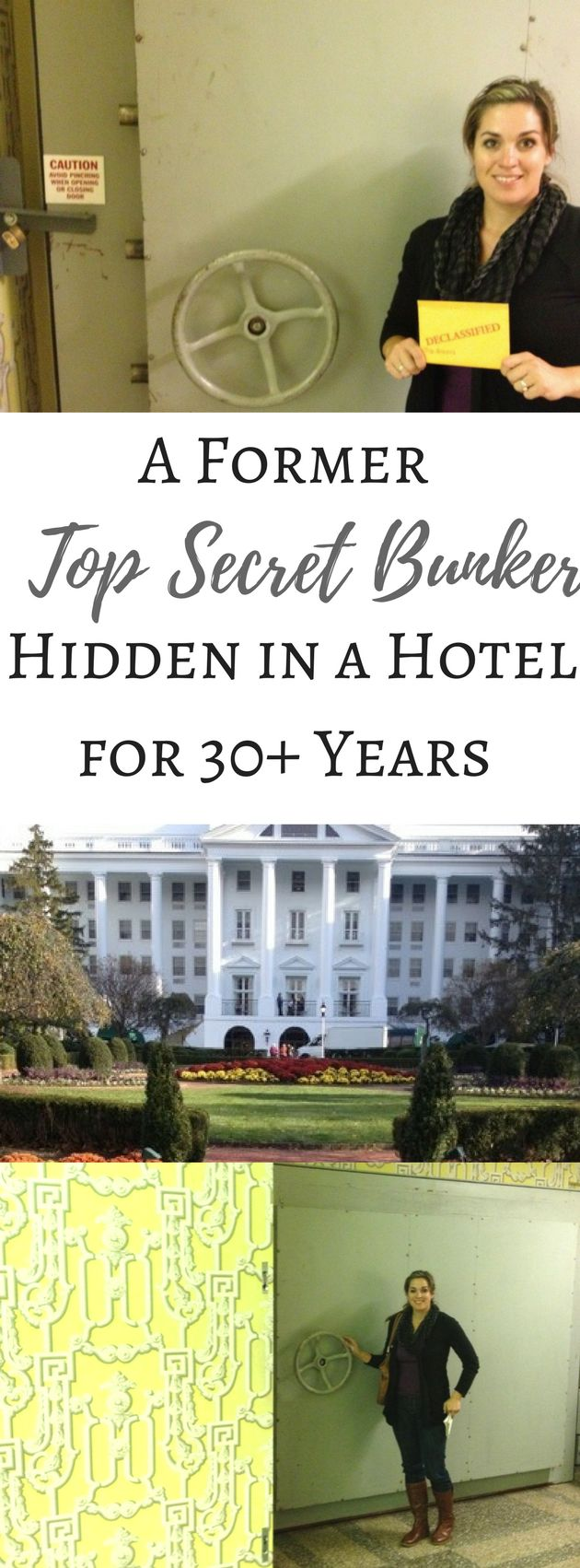 Tour the inside of a Top Secret Bunker hidden inside a hotel for more than 30+ years in West Virginia.