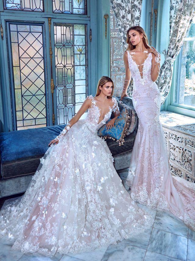 vestidos de novia elegantes esponjados