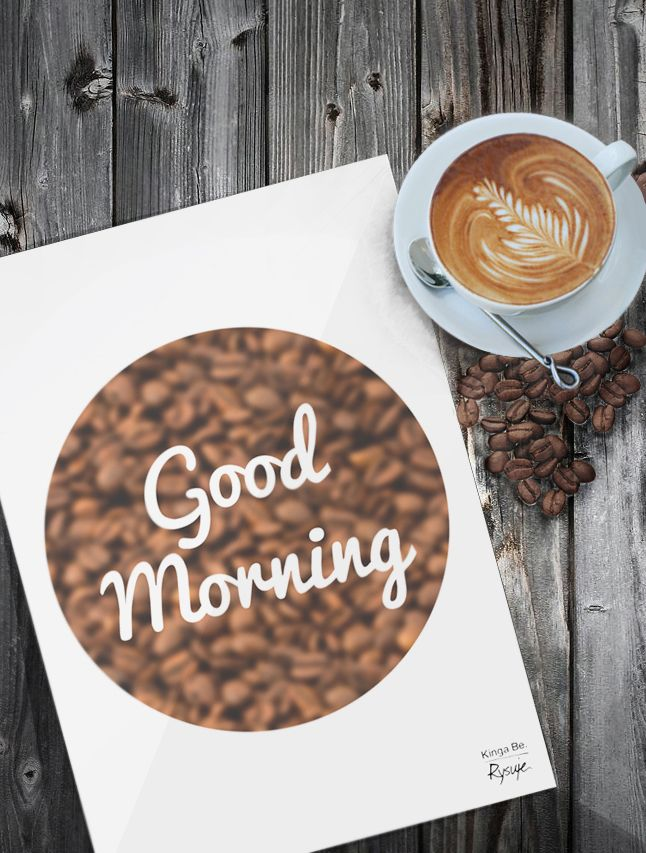 """Good Morning""/ Typografia do kuchni"