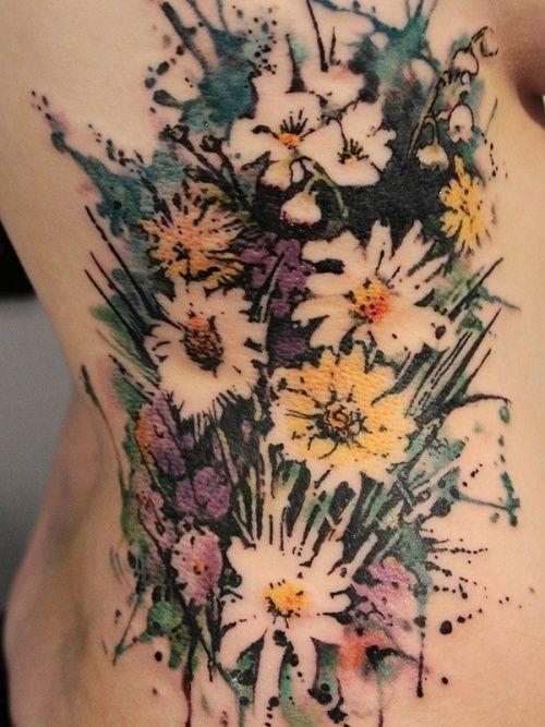 """50 """"Акварельных"""" татуировок. Татуировка это отличный способ выразить себя. Есть множество идей для татуировок, с определенным значением для вас и без. Это может"""