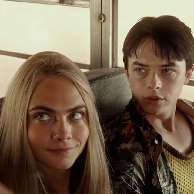Agents #Valerian and Laureline – an unstoppable duo.