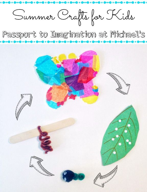 Summer Crafts for Kids - Passport to Imagination at Michael's - Inner Child Fun