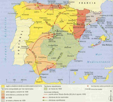 The Spanish Civil War 1936-1939