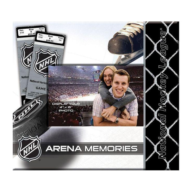 National Hockey League 8'' x 8'' Ticket and Photo Album Scrapbook, Multicolor