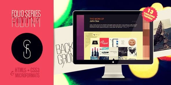 Folio Nº1 - One Page Creative Portfolio Template. Live Preview & Download: http://themeforest.net/item/folio-n1-one-page-creative-portfolio/134502?s_rank=724&ref=yinkira