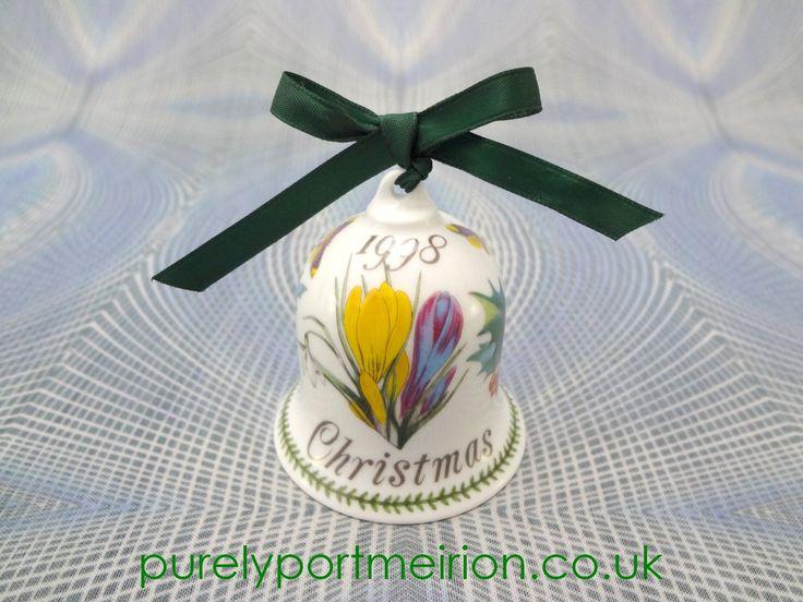Portmeirion China Christmas Bell 1998