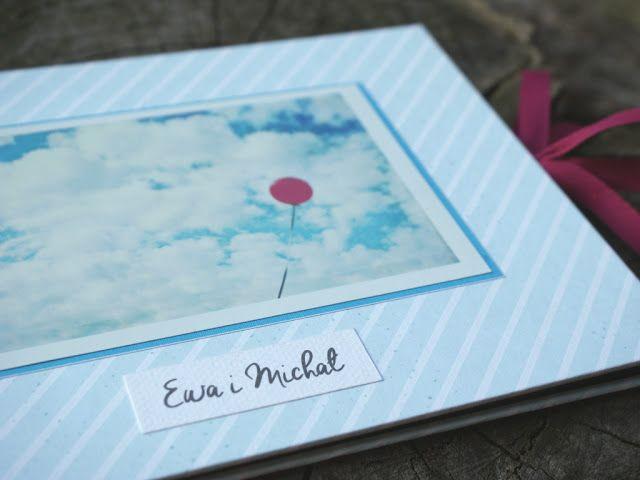 "manufaktura koloru - handmade accessories: # 241 - leporello ""Ewa & Michał"""