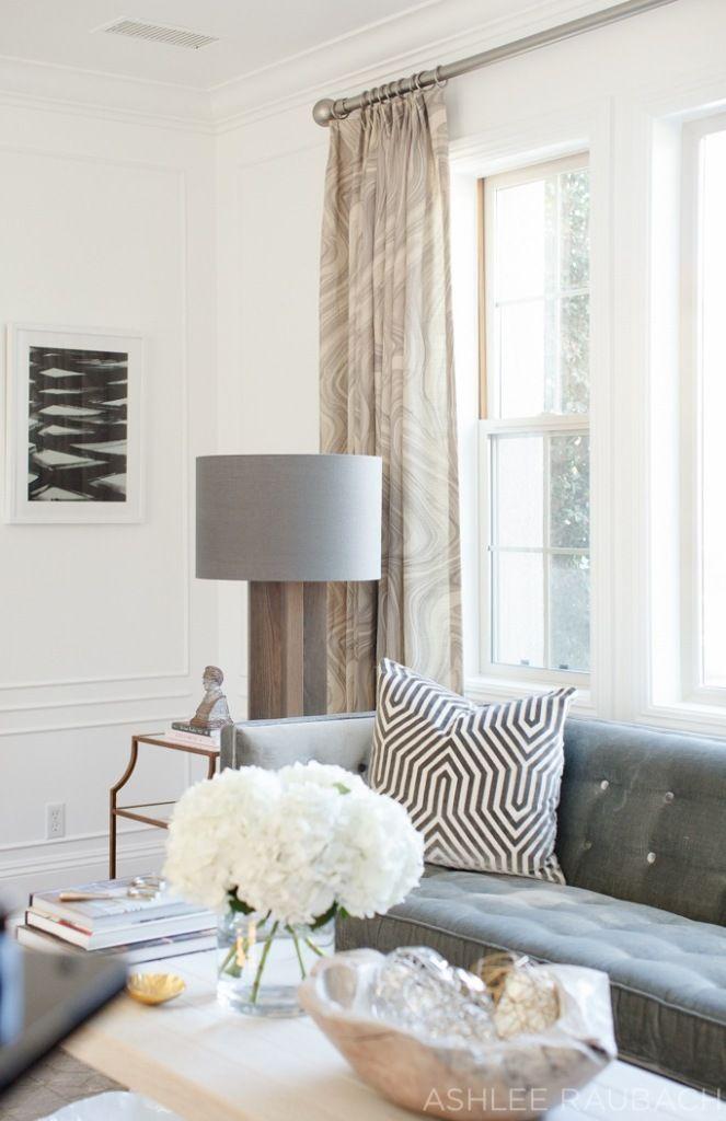 Neutral Modern Living Room - Owens and Davis