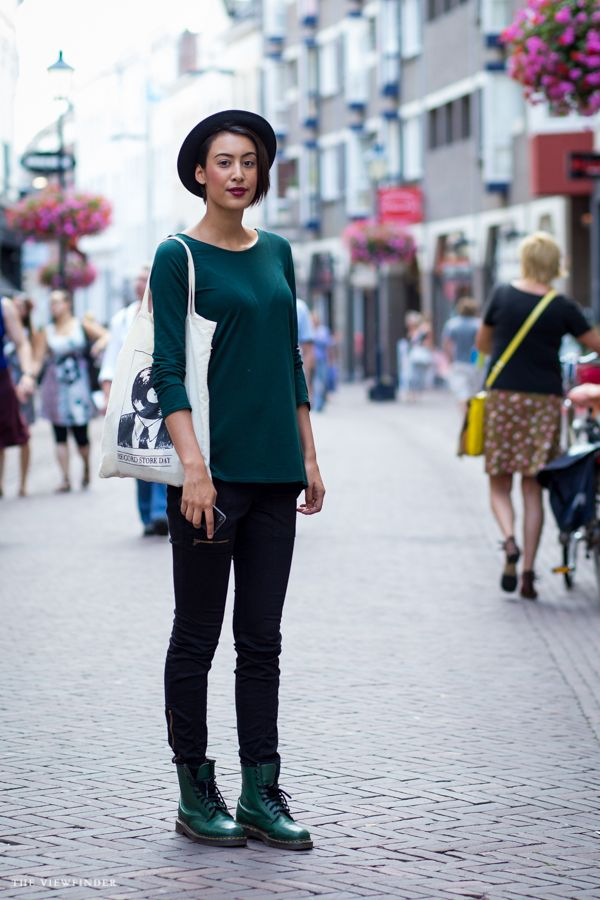 good with a hat black green in arnhem nl theviewfinder street fashion pinterest. Black Bedroom Furniture Sets. Home Design Ideas