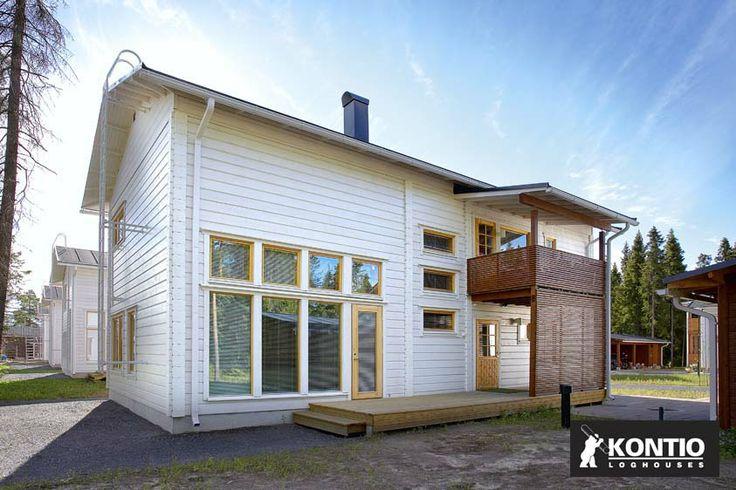 Construire une maison contemporaine en bois Kontio