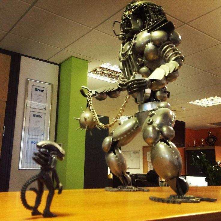 Alien vs Predator in the Office