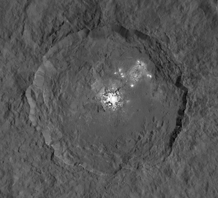 Image of Ceres by the Dawn spacecraft on June 14, 2015