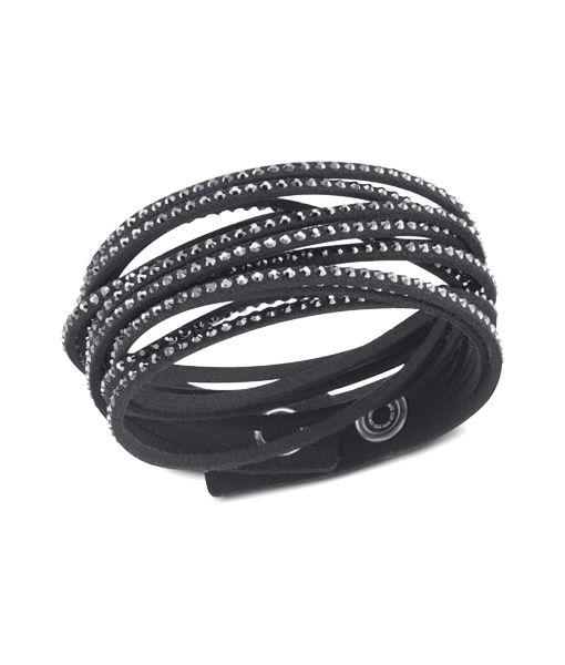 Swarovski Jewellery slake black bracelet