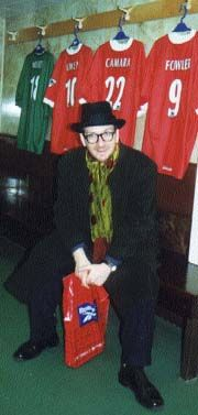 Elvis Costello, another LFC supporter